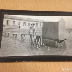 Fotografía antigua: ANTIGUA FOTOGRAFIA TARJETA POSTAL LOS ALCAZARES MAR MENOR MURCIA. Lote 107999491