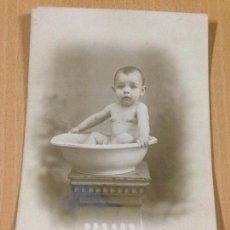 Fotografía antigua: ANTIGUA FOTOGRAFIA TARJETA POSTAL NIÑO LUIS ARBONA CEUTA. Lote 108008147