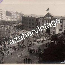 Fotografía antigua: MADRID, 1930, MITIN REPUBLICANO EN LA PLAZA DE TOROS DE LAS VENTAS. Lote 108822395