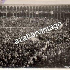 Fotografía antigua: MADRID, 1930, MITIN REPUBLICANO EN LA PLAZA DE TOROS DE LAS VENTAS. Lote 108822631