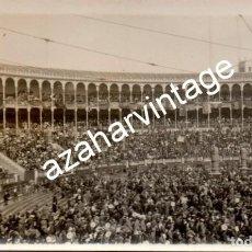 Fotografía antigua: MADRID, 1930, MITIN REPUBLICANO EN LA PLAZA DE TOROS DE LAS VENTAS. Lote 108822751