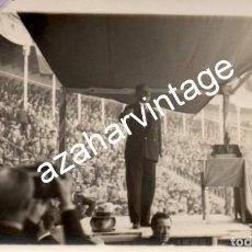 Fotografía antigua: MADRID, 1930, MITIN REPUBLICANO, GERARDO ABAD CONDE, ESPECTACULAR. Lote 108823235