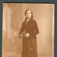 Fotografía antigua: SEÑORITA. PHOTO RAPHAEL. BCN. C. 1930. Lote 108831387