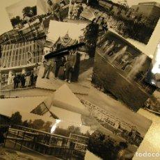 Fotografía antigua: ANTIHUGUA FOTO FOTOGRAFIA EXPOSICION UNIVERSAL BRUSELAS 1958 ,LOTE DE 17 FOTOS (17). Lote 109059719