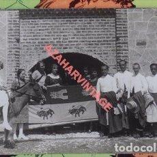Fotografía antigua: ARACENA AÑOS 20, FIESTA CAMPERA, FAMILIA BORBON-ORLEANS Y SANCHEZ DALP, LEER DESCRIPCION, RARISIMA. Lote 109256899