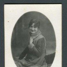 Fotografía antigua: JOVEN. F: NIEPCE. BCN. C. 1920. Lote 109534879