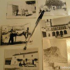 Fotografía antigua: ANTIGUA FOTO FOTOGRAFIA COCHE ANTIGUO AÑOS 50 /70 , LOTE DE 5 FOTOS (17). Lote 109699183
