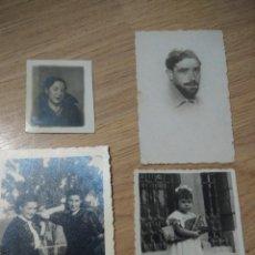 Fotografía antigua: LOTE DE FOTOGRAFIAS ANTIGUAS, AÑOS 30-40. Lote 110003951