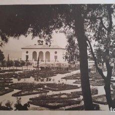 Fotografía antigua: FOTO ORIGINAL. AÑOS 20. BARCELONA. JARDINS DEL TEATRE GREC. ACTUAL CAFÈ BELGRADO. MONTJUÏCH. Lote 110087999