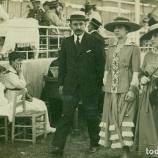 Fotografía antigua: HIPÓDROMO DE MADRID. FOTO PAPELERIA AMERICANA. HACIA 1920.. Lote 112016027