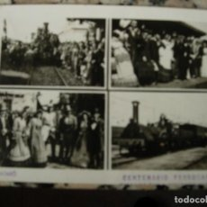 Fotografía antigua: CENTENARIO DEL FERROCARRIL MATARO. Lote 112103415