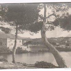 Fotografía antigua: MALLORCA, SELLO REVERSO: MIGUEL FIOL RAMON, PALMA.. Lote 112611179