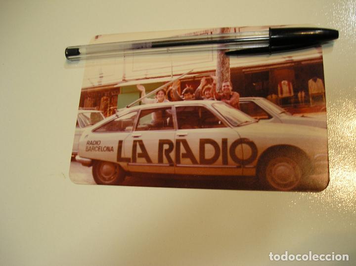 Fotografía antigua: antigua foto fotografia radio Barcelona, coche citroen gs (18) - Foto 2 - 113030311