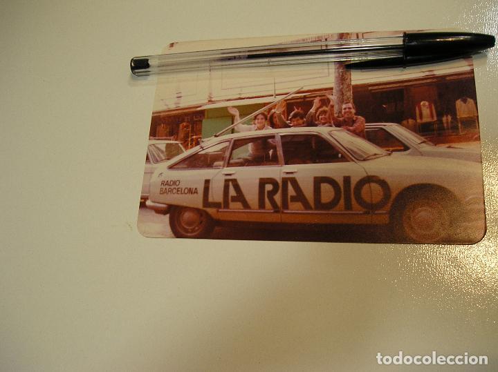 Fotografía antigua: antigua foto fotografia radio Barcelona, coche citroen gs (18) - Foto 3 - 113030311