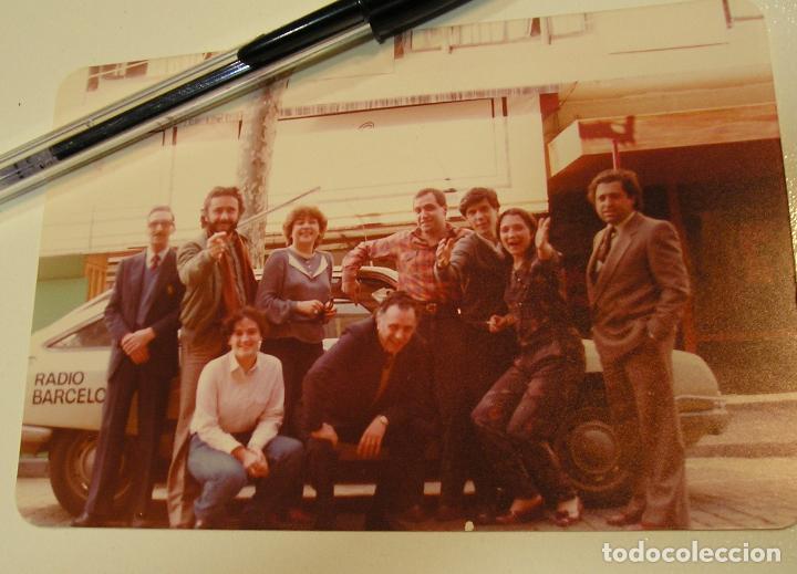ANTIGUA FOTO FOTOGRAFIA RADIO BARCELONA, COCHE CITROEN GS (18) (Fotografía Antigua - Tarjeta Postal)