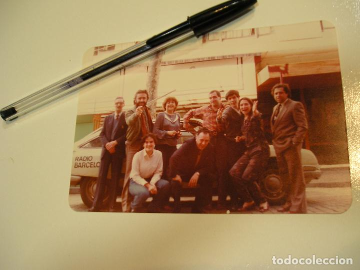 Fotografía antigua: antigua foto fotografia radio Barcelona, coche citroen gs (18) - Foto 2 - 113030359