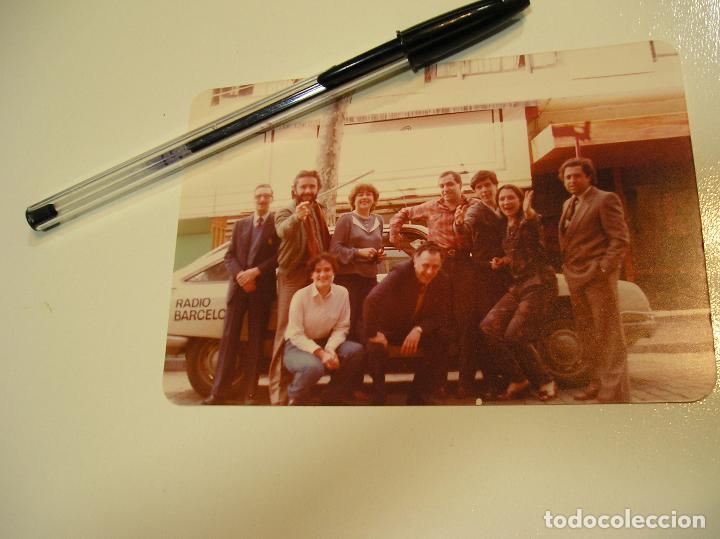 Fotografía antigua: antigua foto fotografia radio Barcelona, coche citroen gs (18) - Foto 3 - 113030359