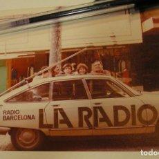 Fotografía antigua: ANTIGUA FOTO FOTOGRAFIA RADIO BARCELONA, COCHE CITROEN GS (18). Lote 113030487