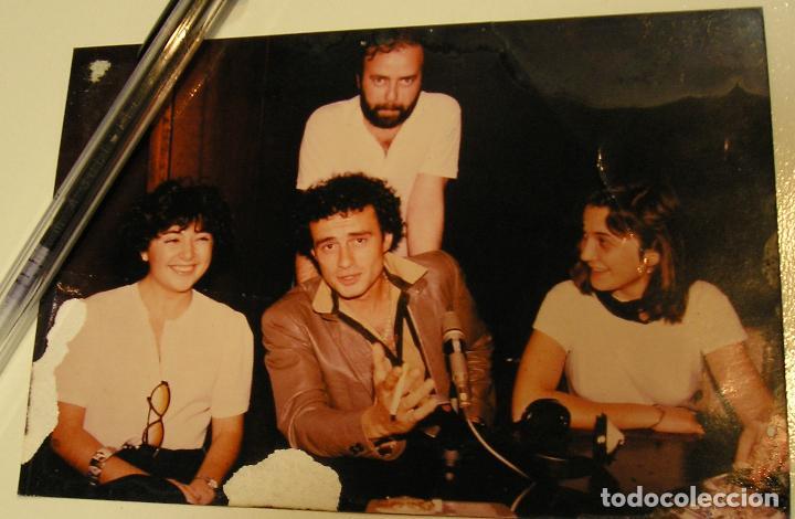ANTIGUA FOTO FOTOGRAFIA RADIO BARCELONA, EL CANTANTE ITALIANO PINO D'ANGIÒ (18) (Fotografía Antigua - Tarjeta Postal)