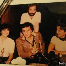 Fotografía antigua: ANTIGUA FOTO FOTOGRAFIA RADIO BARCELONA, EL CANTANTE ITALIANO PINO D'ANGIÒ (18). Lote 113030567
