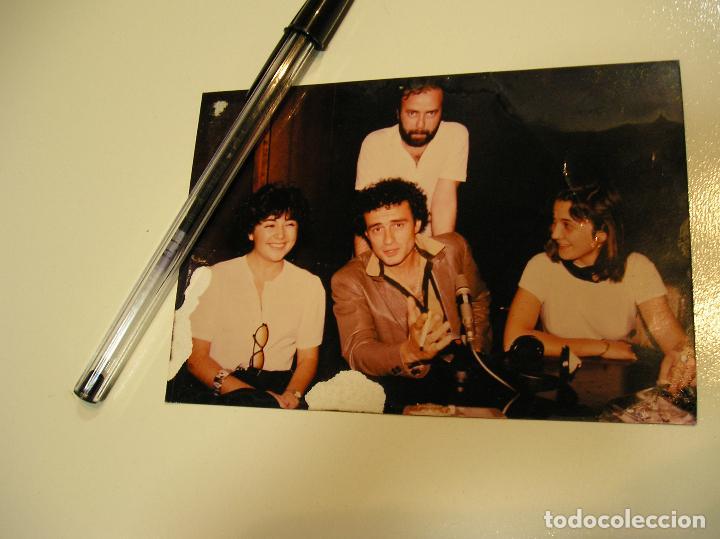 Fotografía antigua: antigua foto fotografia radio Barcelona, el cantante italiano Pino D'Angiò (18) - Foto 2 - 113030567