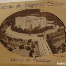 Fotografía antigua: COLEGIO SAGRADO CORAZON PALMA DE MALLORCA 16 POSTALES IMPECABLES SIN CIRCULAR EN SU ENVOLTORIO (18). Lote 113261163