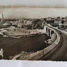 Fotografía antigua: ANTIGUA FOTO PROMENADE DE LA CORNICHE LE PETIT NICE COSTA DE NIZA 6X9CM. Lote 114091719