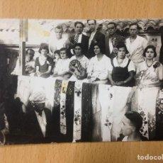 Fotografía antigua: ANTIGUA FOTOGRAFIA TARJETA POSTAL FIESTAS POPULARES ALFONSO IZQUIERDO CARTAGENA MURCIA. Lote 114382243