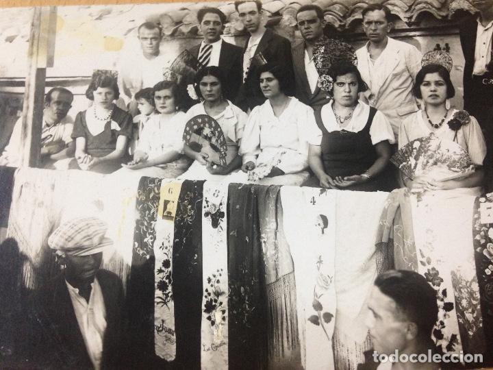 Fotografía antigua: ANTIGUA FOTOGRAFIA TARJETA POSTAL FIESTAS POPULARES ALFONSO IZQUIERDO CARTAGENA MURCIA - Foto 2 - 114382243