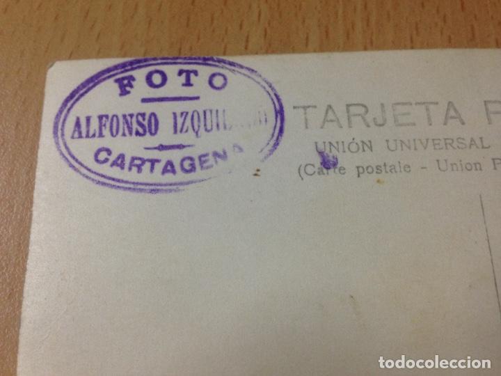 Fotografía antigua: ANTIGUA FOTOGRAFIA TARJETA POSTAL FIESTAS POPULARES ALFONSO IZQUIERDO CARTAGENA MURCIA - Foto 4 - 114382243