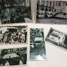 Fotografía antigua: LOTE DE 6 REPRODUCCIONES DE FOTOGRAFÍAS PUBLICIDAD DE LA MARCA DE PAPEL DE FUMAR O. C. B. Lote 114396743