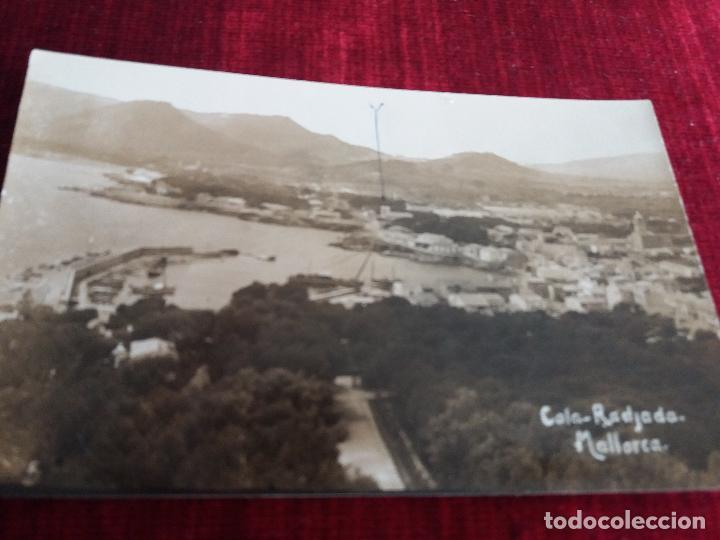FOTO MASCARO(MARIA DE LA SALUD) CALA RADJADA (CALA RATJADA). RARA (Fotografía Antigua - Tarjeta Postal)