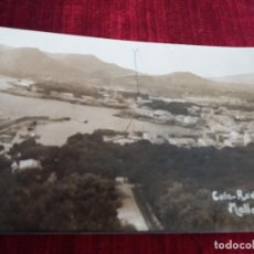 Fotografía antigua: FOTO MASCARO(MARIA DE LA SALUD) CALA RADJADA (CALA RATJADA). RARA. Lote 115109743