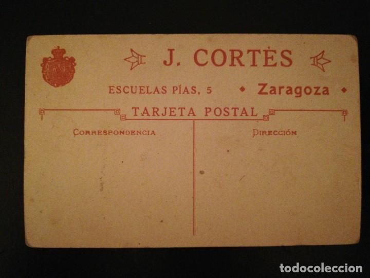 Fotografía antigua: Fotografía TARJETA POSTAL Retrato de Mujer P. S XX - Zaragoza - Foto 2 - 115256683