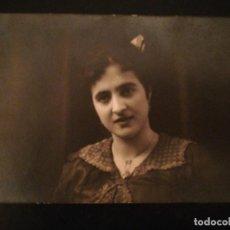 Fotografía antigua: FOTOGRAFÍA TARJETA POSTAL RETRATO DE MUJER - ZARAGOZA . Lote 115256803