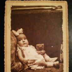 Fotografía antigua - Retrato Infantil - TARJETA POSTAL Union Postal Universal F.F.S.XIX ó P.P.S.XX - 115258231