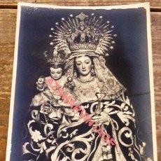 Fotografía antigua: SEMANA SANTA SEVILLA, RARISIMA POSTAL FOTOGRAFICA DE LA VIRGEN DEL ROSARIO DE SANTA CATALINA. Lote 115723903