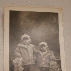 Fotografía antigua: HERMANAS EL DÍA DE LA PALMA. 1929. FOTOGRAFÍA IDEAL. BARCELONA. 8,5 X 13,5 CM. INFORMACIÓN Y FOTOS. Lote 116170555