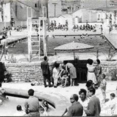 Fotografía antigua: SANTA COLOMA DE QUERALT .- PISCINA DE EDUCACION Y DESCANSO .- 14 X 9. Lote 116198875