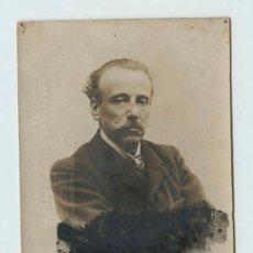 Fotografía antigua: NARCÍS OLLER I MORAGAS, ESCRITOR CATALÁN. FOTO AUDOUARD.. Lote 116218867