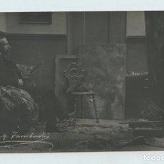 Fotografía antigua: JOSEP Mª TAMBURINI DALMAU (1856-1932) PINTOR Y CRÍTICO DE ARTE. AÑO 1904, FOTO F. SERRA. Lote 116219139