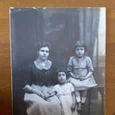 Fotografía antigua: FOTOGRAFÍA FAMILIA - TALLERES FOTOGRÁFICOS AMER. Lote 116505019