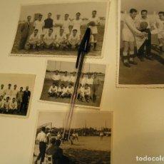 Fotografía antigua: ANTIGUA FOTO FOTOGRAFIA LOTE DE 5 FOTOS EQUIPOS DE FUTBOL , PARTIDO FUTBOL EQUIPO DE VALENCIA (18). Lote 116972631