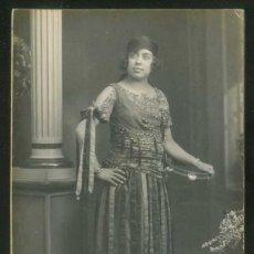 Fotografía antigua: FOT. AMERICAN ALOGRAFF, BARCELONA. *CARNAVAL 1923* MEDS: 87 X 137 MMS.. Lote 117053627
