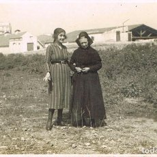 Fotografía antigua: EN UN PUEBLO DEL CAMPO. Lote 117220051