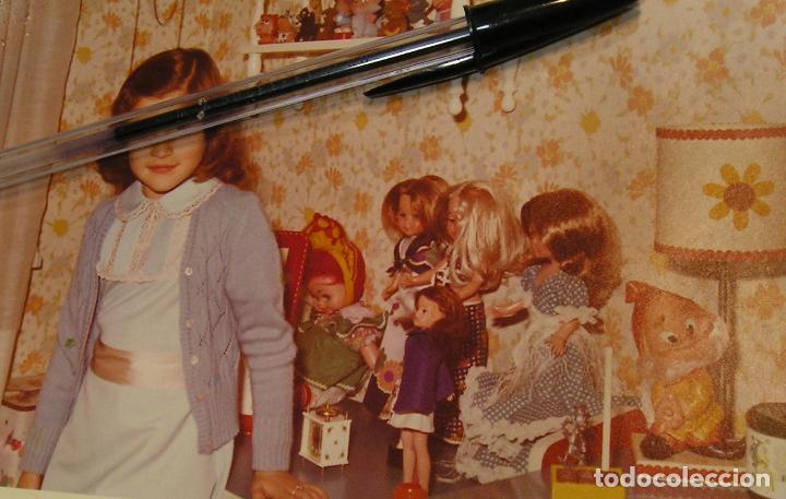 MUÑECA NANCY ANTIGUA FOTO FOTOGRAFIA NIÑAS CON SUS MUÑECAS NANCY DE FAMOSA (18) (Fotografía Antigua - Tarjeta Postal)