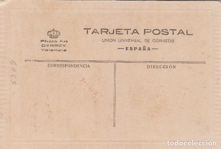 Fotografía antigua: Fantástica fotografía Tarjeta Postal. Niños vestidos de Comunión. J. Derrey, Valencia. 1919. - Foto 2 - 118738215