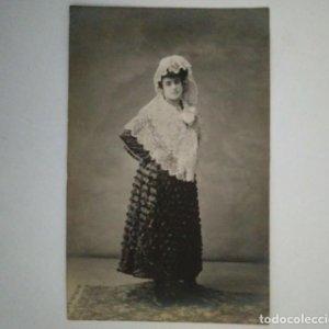POSTAL FOTOGRÁFICA RETRATO FOTÓGRAFO ANTONI ESPLUGAS I PUIG (1852 - 1929)