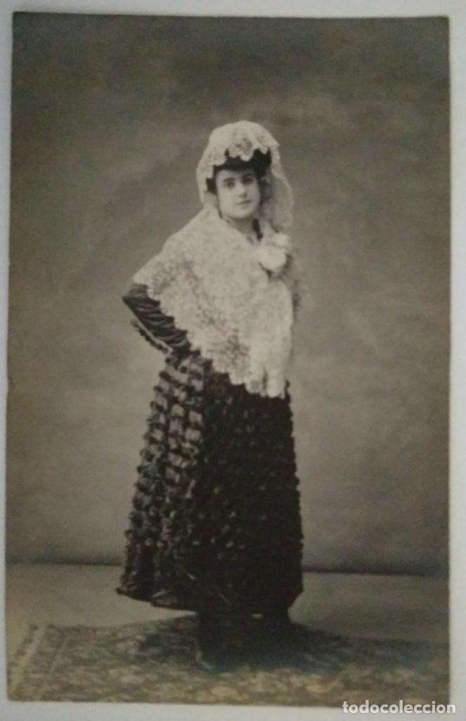 Fotografía antigua: POSTAL FOTOGRÁFICA RETRATO FOTÓGRAFO ANTONI ESPLUGAS I PUIG (1852 - 1929) - Foto 2 - 120268819