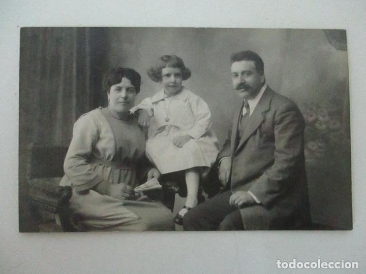 TARJETA POSTAL - FOTO FAMILIAR - FOTÓGRAFO MARINÉ - PRINCIPIOS S. XX (Fotografía Antigua - Tarjeta Postal)